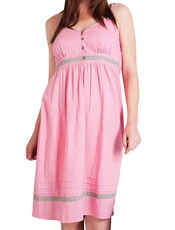 Orientique Madame Butterfly Pink Nightie
