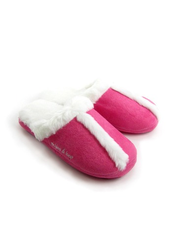 Fur Scuff Slipper