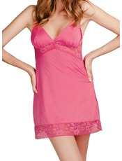 Bassoni Pink Microfibre Nightie